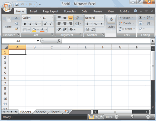 excel spreadsheet Windows